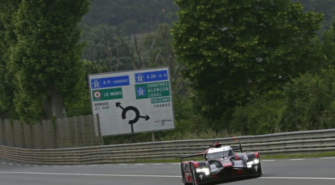 Wertvolle Testkilometer für Audi in Le Mans