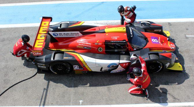 Technische Probleme für Race Performance in Le Castellet