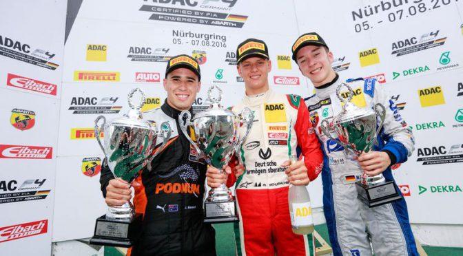 Start-Ziel-Sieg für Mick Schumacher in der ADAC Formel 4