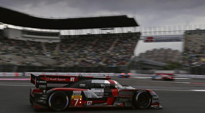Audi in turbulentem Rennen Zweiter in Mexiko