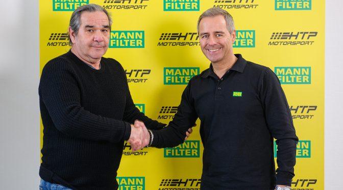 HTP Motorsport startet Kooperation mit MANN-FILTER