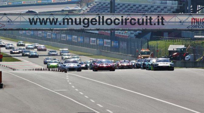 Scuderia Praha Ferrari führt nach dem ersten Teil der 12H Mugello