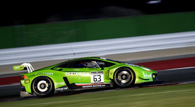Punkte für Grasser Racing beim Blancpain-GT-Sprint in Misano