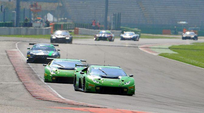 Podium Ziel für GRT Grasser Racing beim Blancpain-GT-Auftakt in Misano