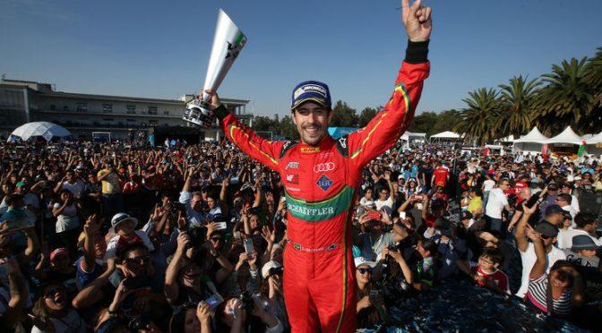 Spektakulärer Sieg für Audi-Pilot di Grassi in Mexiko-Stadt