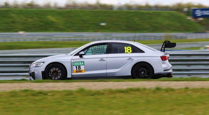 Audi-Pilot Sheldon v.d. Linde Schnellster bei den Testtagen der ADAC TCR Germany