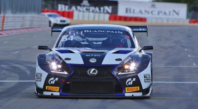 Schwieriges Debütrennen für Emil Frey Lexus Racing beim Saisonfinale der BSS