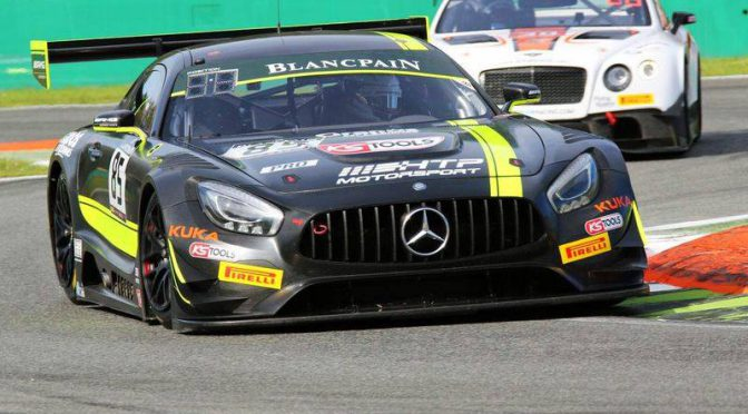 Team HTP Motorsport auf Titelkurs in Blancpain GT Series