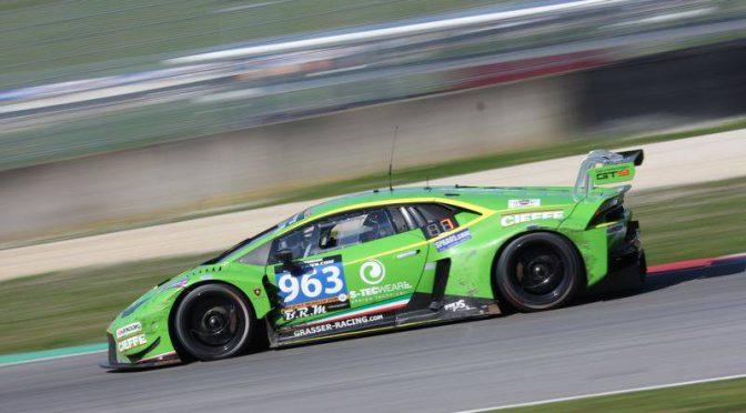 Grasser Racing Team- Pole-Position für die Hankook 12h von Mugello