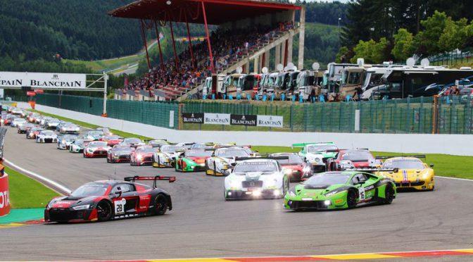 Grasser Racing beendet 24h von Spa mit allen drei Autos