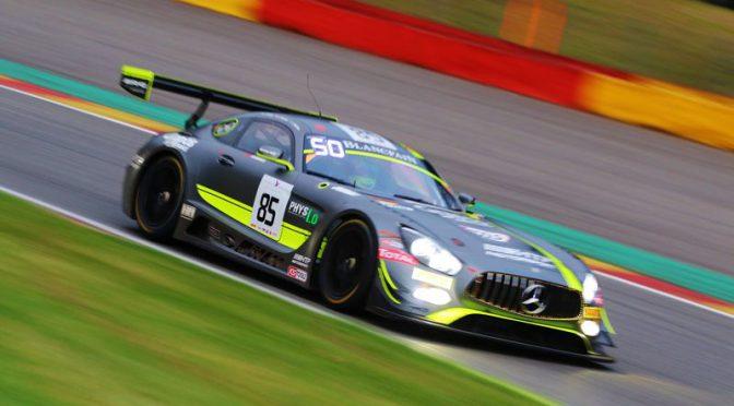 HTP Motorsport mit zwei Top-10 Platzierungen bei Total 24 Hours of Spa