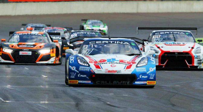 Corvette-Doppelsieg im ADAC GT Masters am Lausitzring