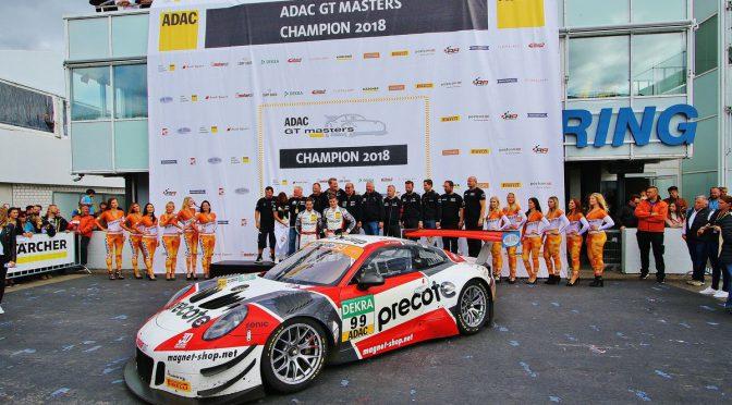 ADAC GT Masters-Champions Robert Renauer und Mathieu Jaminet
