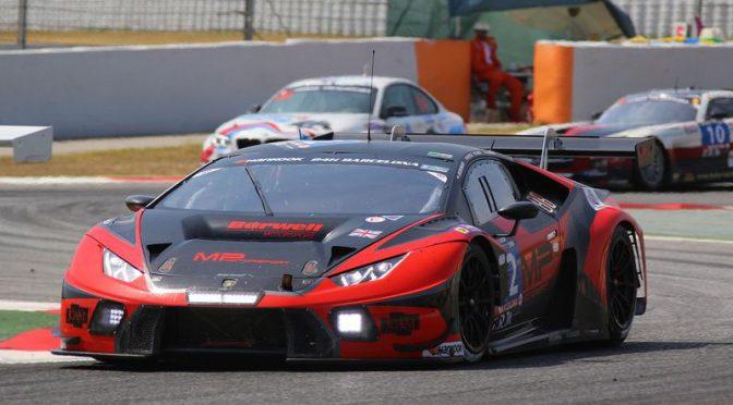 Barwell Motorsport erobern Pole-Position für die 24H von Barcelona
