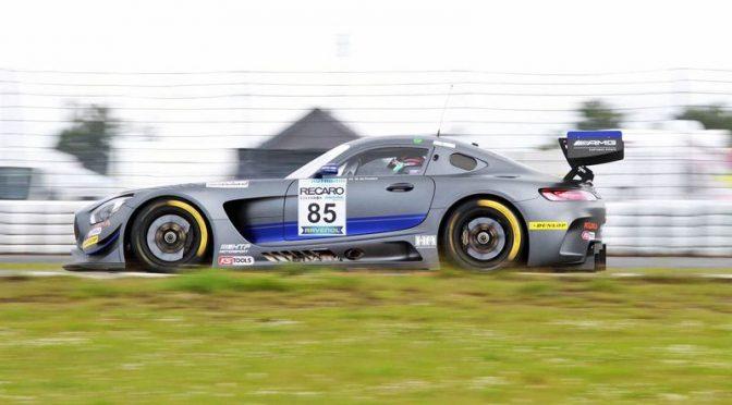 HTP Motorsport mit drei Mercedes AMG GT3 beim 24h am Nürburgring