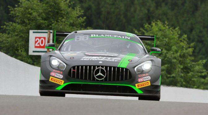 HTP Motorsport mit Vollgas durch die Ardennen