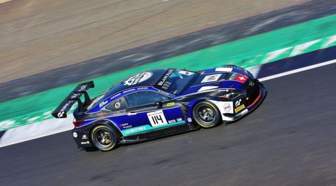 Starkes Podium für Emil Frey Lexus Racing mit Herzschlagfinale in Silverstone