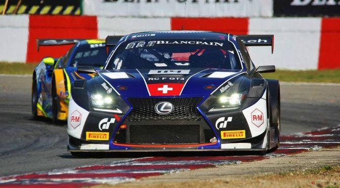 Auftaktrennen für Emil Frey Lexus Racing beim Sprint Cup in Zolder